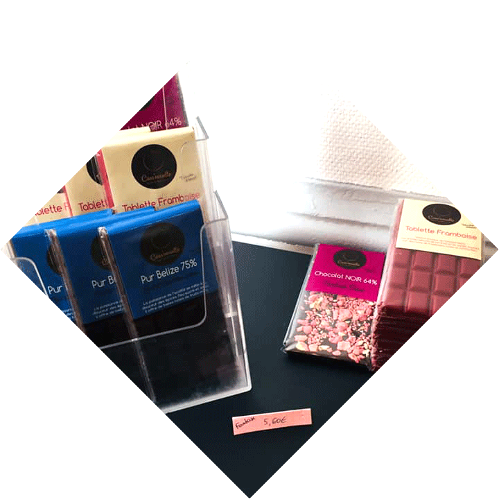 Chocolats fins et aromatiques de Cass'Noisettes