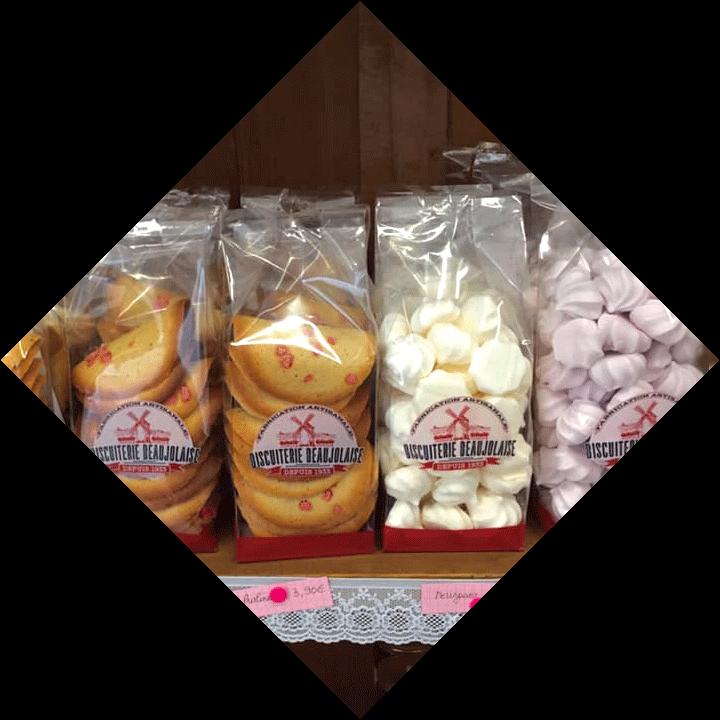 Biscuits de la Biscuiterie Beaujolaise - Fleurie