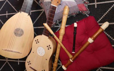 Dim 26 avril, 17h30 : concert Duo Romanesca (musique baroque) : reporté