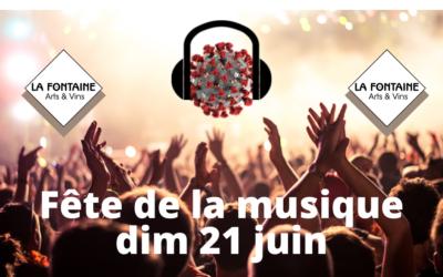 Dimanche 21 juin : Fête de la Musique !!!